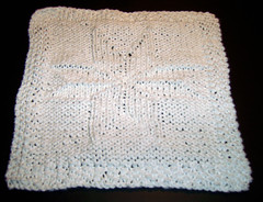 Snowflake dishcloth - Monthly KAL