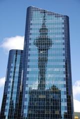 Reflektion des Skytowers