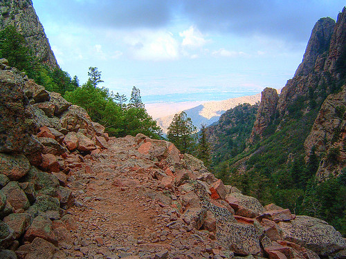 Sandia Mountain Trail