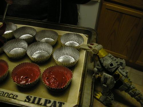 Me Grimlock want eat cuppycake now!