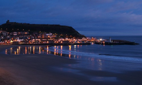 Scarborough South Bay At Dawn