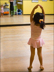 .good form. (arkworld) Tags: ballet jessie ballerina mygirl goodform herfirstballetclass tc99dance jessieballet public4now