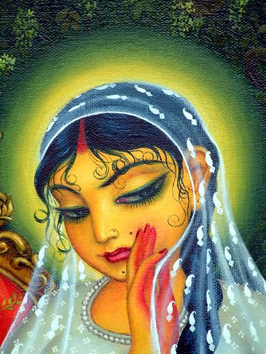 Sri Radha's hurt feelings