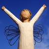 Still I rise (cattycamehome) Tags: blue winter sky sculpture white macro statue metal tag3 angel clouds rising poetry tag2 all colours tag1 power bright © rusty sunny angels rights poet pottery strength rise inspirational celebrate reserved bravery courage willowtree angelwings adversity catherineingram mayaangelou openarms happyandinspiringphotos stillirise abigfave february2007 impressedbeauty cattycamehome 200750plusfaves superbmasterpiece allrightsreserved©