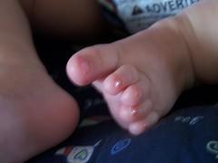 Yep, toes painted