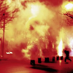 Chinese New Year in Dalian - risk evaluation (GraemeNicol) Tags: china street city urban festival danger asia chaos fireworks chinese culture dalian newyear celebration anarchy  explosions firecrackers  springfestival chunjie