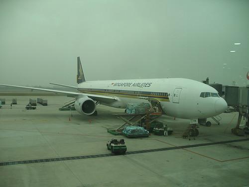 台北飛新加坡的飛機