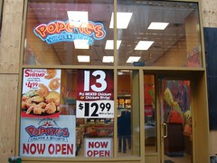 Popeye's Opens in Midtown