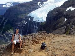 Tronador Trek - 23 - Matt glacier (Large)