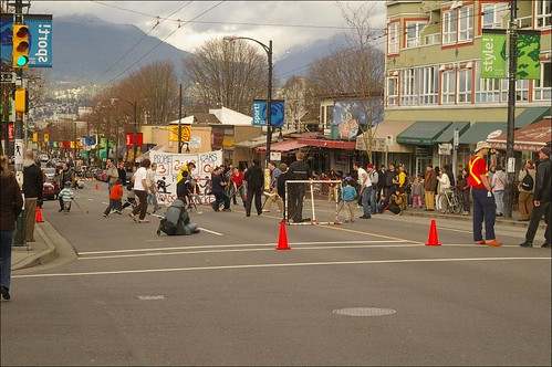 Commercial Drive Street Hockey