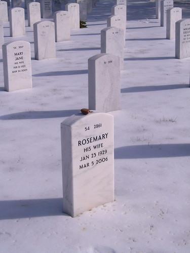 Rosemary Kooiman's headstone