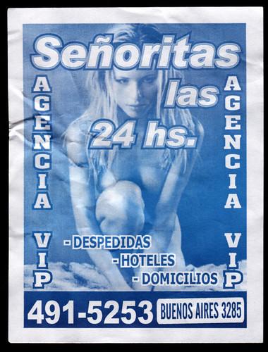 senoritas 24hs azul