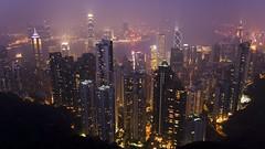 Hong Kong (Widescreen Wallpaper) (wenzday01) Tags: city travel wallpaper urban hk topf25 topv2222 skyline