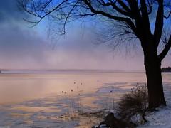 It was a surreal evening (♥ B i b b i ♥) Tags: winter lake snow evening vinter sweden surreal explore sverige magical snö 2007 mälaren hässelby magisk sjö lakemälaren interestingness8 kväll hässelbystrand i500 magicalevening colorphotoaward impressedbeauty aplusphoto superaplusphoto irresistiblebeauty superbmasterpiece beyondexcellence diamondclassphotographer flickrdiamond explore23feb07 magiskkväll