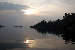 Sunset on Lake Kivu