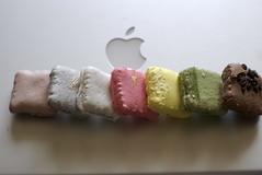 (otarako☺︎) Tags: apple mac sweets 甜心 マカロン 銀座三越only アジアンスイーツ