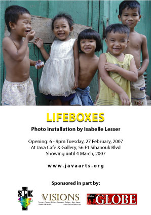 Lifeboxes - Isabelle Lesser