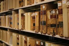 egghead loves his booky-wook. (emdot) Tags: book books shelf shelves stacks oldstuff serials librariesandlibrarians ll100