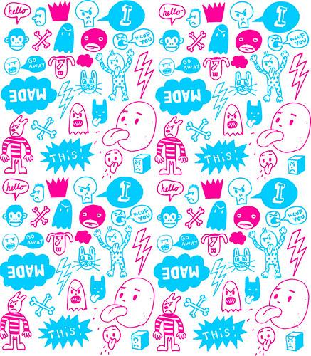 Aşağıda güzel duvar kağıdı sticker örnek resimleri