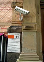 Videoüberwachung und Psychiatrie. CC: Moe/FlickR