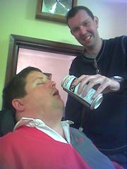 Normy feeding Skinner (delibelli) Tags: normy skinner beer feeding delibelli mates friends musculardystrophy