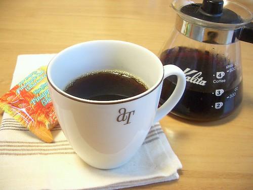 coffee break / 今日はhotで