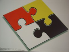 Multiracial jigsaw (Ben Sutherland) Tags: barcelona wuf worldurbanforum secondworldurbanforum wuf2