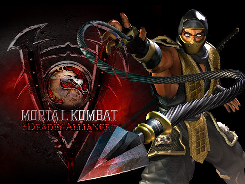 mortal kombat scorpion. mortal kombat scorpion logo