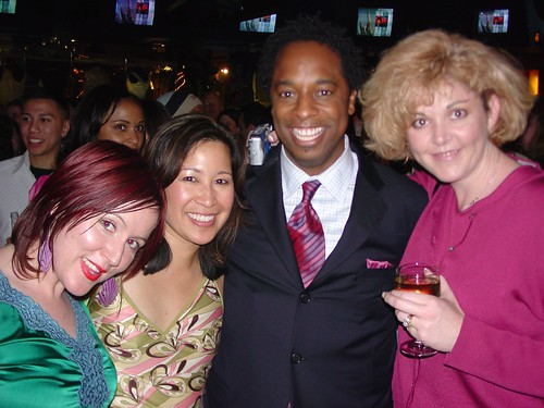 Craig From Apprentice 3 with Jen, Arleen, and PopVulture