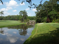 Crossing the Bridge (defrances) Tags: nelson hogan bridge augusta amencorner augustanational masters golf
