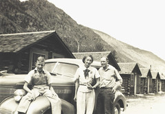 Gary, Flora, Nate with 1939 Chev (gem66) Tags: colorado georgetown mountains cabin oldcar car chev 39chev gary mom dad childhood family favorites familyvehicles oldfamilyphotos old oldcarsandtrucks mychildhood me vvc antique antiquecar 1939 chevrolet