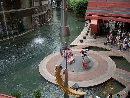 Canal City show Japón