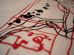 DSC00634 (Dmtr.org) Tags: macro shirt screenprint silk tshirt screenprinting silkscreen tee teeshirt camiseta tees remera velocidadesincronicazero vsz laboratorioexperimentalautosustentavel clavedefa serigrafia vsz2 vsztee