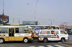 Lima, Peru (Barrybar) Tags: 2005 bus peru buses lima combi description omnibus pending