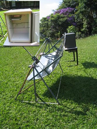 Geladeira Solar Atual