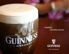 For _Stefanie: her Guinness ad (Weave) Tags: ericweaver advert ad fake guinness beer bier bire birra cerveja cerveza