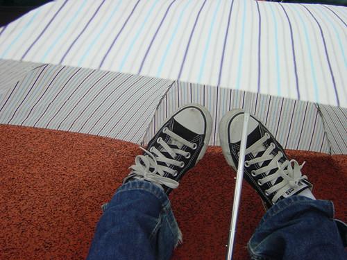 under the unbrella