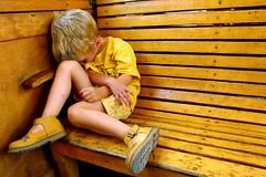 lo, broken puppet (phitar) Tags: 2001 yellow topv2222 wow kid leo puppet sleep interestingness1 100v10f bathed thebest2005 fv10 topv3333 topc150 topf500 phitar abigfave