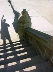 Capitol Steps (O Caritas) Tags: shadow people selfportrait me self michigan steps lansing capitol ocaritas