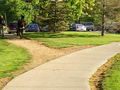 desire-path (kechambers) Tags: rochester newyork university campus thoughtless thoughtlessacts dirtpath sidewalk topv111 topv333