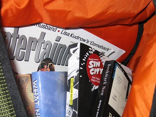 whatsinmybag newbag psp books sidekick backpack