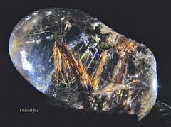 Rutilated Quartz (Orbital Joe) Tags: quartz rutile rocks nature mineral macro crystal color canondigitalrebel abstract