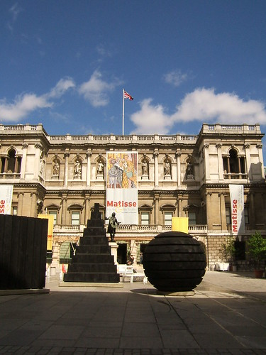 Royal Academy of Arts, Londres (Foto de: ms. Tea)