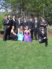 Clarence Michiel Crew (calprom05) Tags: prom graduation tux dresses terrace bc canada arena sunshine people caledonia june