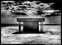 Shack2 (Jeff T. Alu) Tags: desert digital california surreal moody lonely dark outdoors bleak blackandwhite deserted illusion zen medetation medetate power impact graphic doom bright earthy dirt gritty intense visionary heat passion 4x4 remote desolate dreamy nightmare euphoric