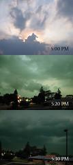 Bad skies today (Davezilla was taken) Tags: downtown sky storm tornado ohshit hide royaloak