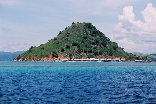 Small Indonesian island