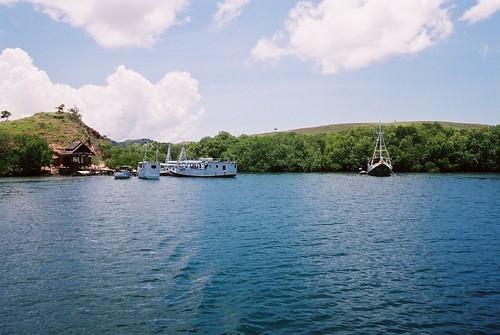 Small harbour of Rinca Island
