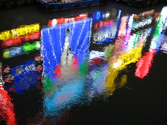 osaka neon (416style) Tags: light water japan canal neon sookie osaka relfection bigshot 416style urbanlifeinmetropolis