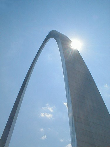 St. Louis Arch by happysteve